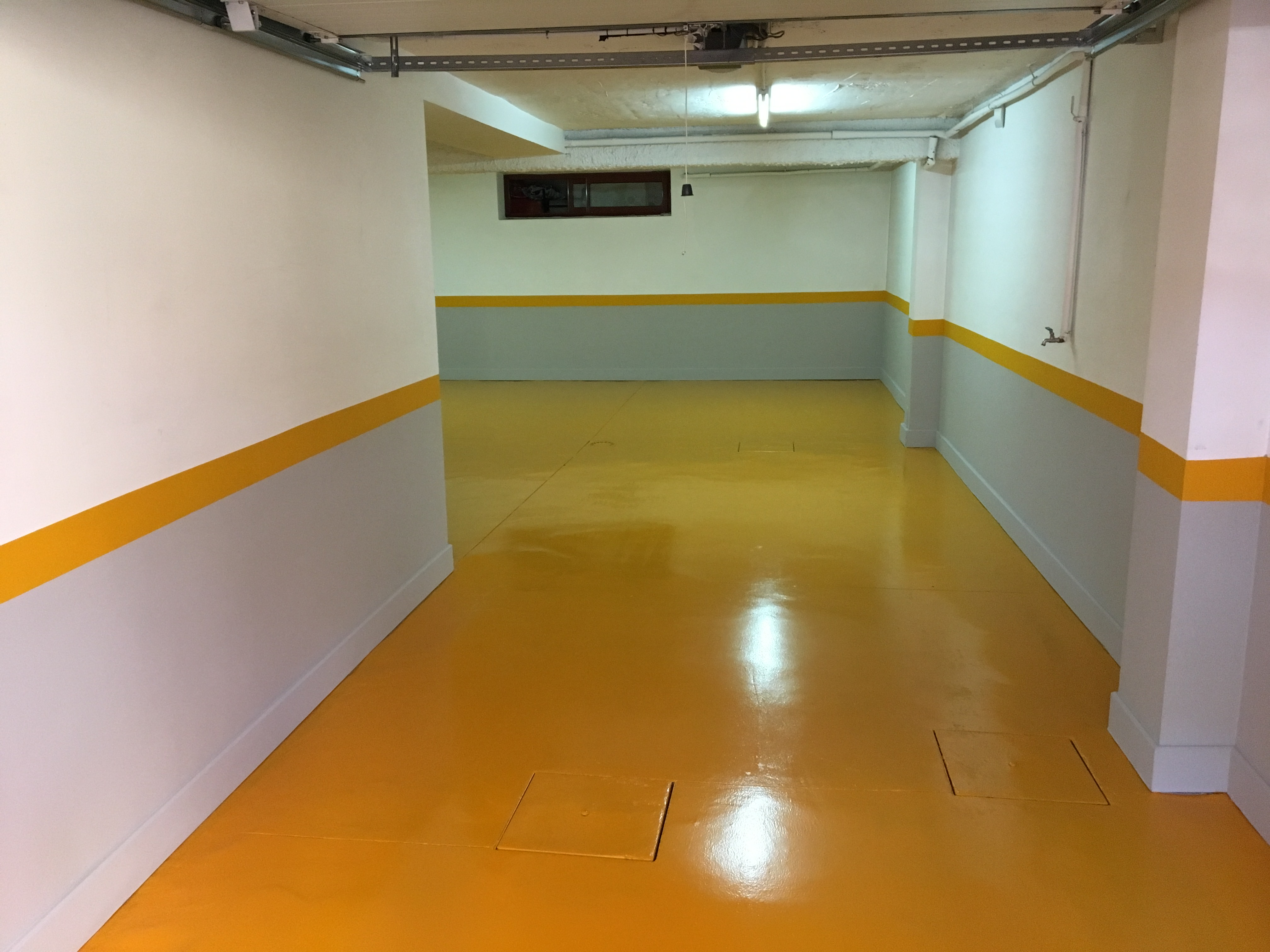 Pintura garaje materiales de construcci n para la reparaci n - Pintura de suelo ...