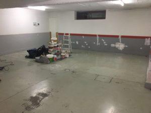 Pintura epoxi 2 c para suelo garaje herrero blanco for Pintura para suelos de garaje